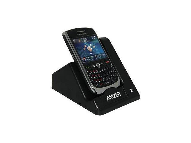 Amzer® Desktop Cradle with Extra Battery Charging Slot For BlackBerry Curve 8900