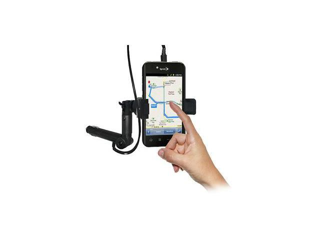 Amzer® Lighter Socket Phone Mount with Charging & Case System For LG Marquee LS855