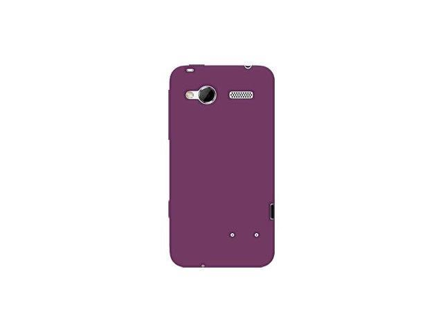 Amzer Silicone Skin Jelly Case - Purple For HTC Radar 4G
