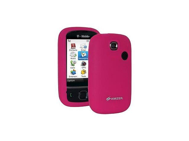 Amzer Silicone Skin Jelly Case - Hot Pink For T-Mobile Tap