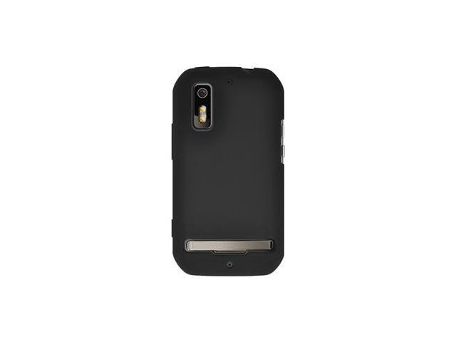 Amzer Silicone Skin Jelly Case - Black For Motorola Photon 4G MB855,Motorola ELECTRIFY