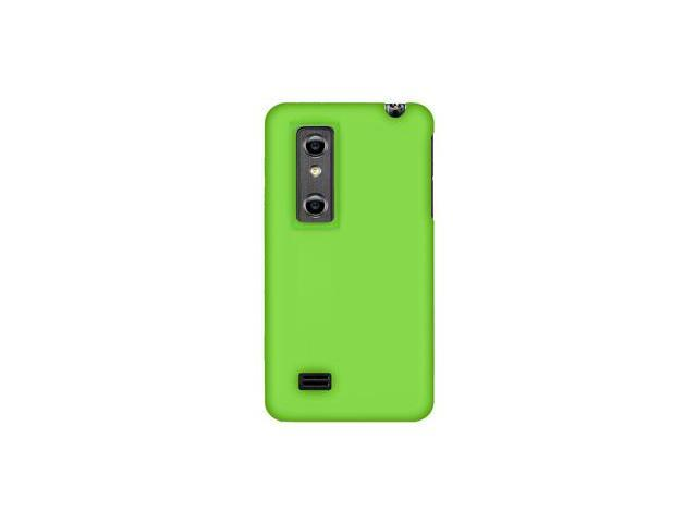 Amzer Silicone Skin Jelly Case - Green For LG Thrill 4G,LG Optimus 3D P920