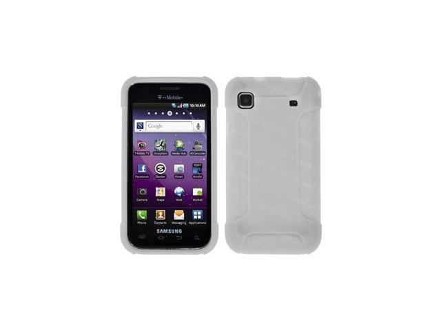 Amzer Silicone Skin Jelly Case - Lilly White For Samsung Vibrant T959,Samsung Galaxy S 4G SGH-T959V