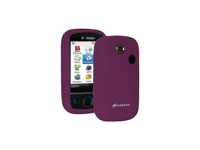 Amzer Silicone Skin Jelly Case - Purple For T-Mobile Tap