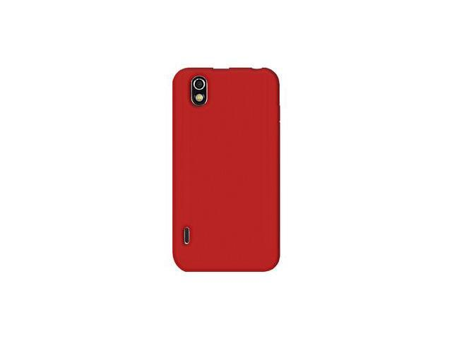 Amzer Silicone Skin Jelly Case - Red For LG Marquee LS855