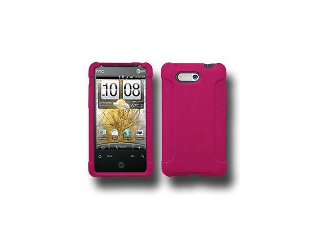 Amzer Silicone Skin Jelly Case - Hot Pink For HTC Aria