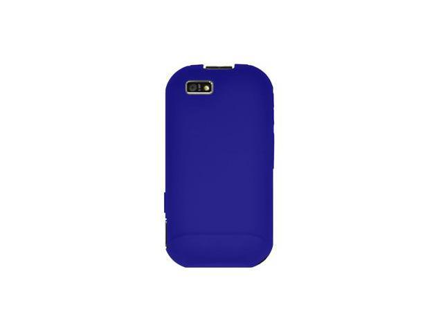 Amzer Silicone Skin Jelly Case - Blue For Motorola TITANIUM