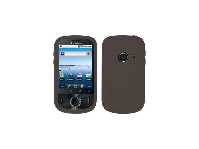 Amzer Silicone Skin Jelly Case - Grey For Huawei Comet U8150