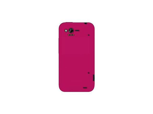 Amzer Silicone Skin Jelly Case - Hot Pink For HTC Rhyme