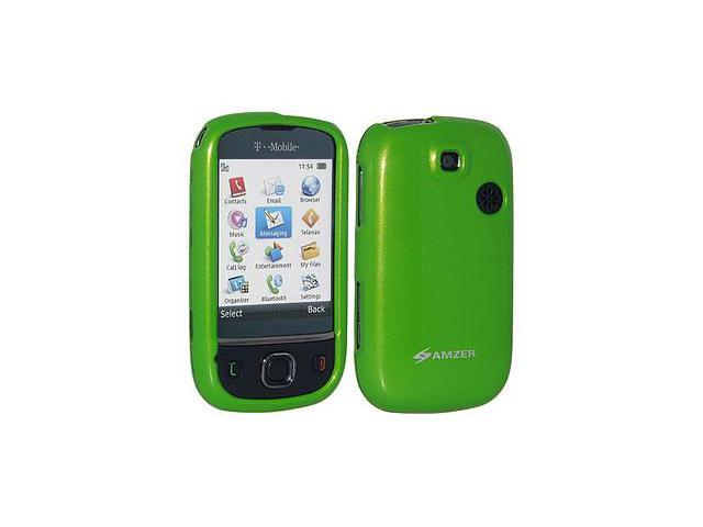 Amzer Polished Green Snap on Crystal Hard Case For T-Mobile Tap