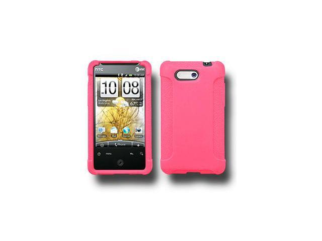 Amzer Silicone Skin Jelly Case - Baby Pink For HTC Aria