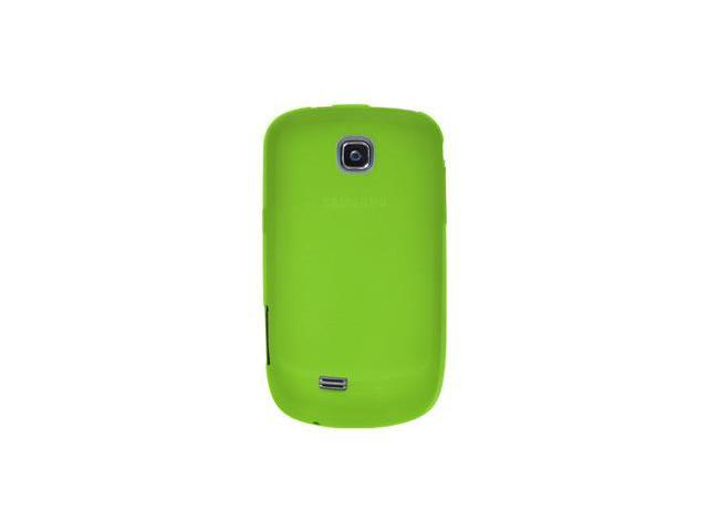 Amzer Silicone Skin Jelly Case - Green For Samsung Dart SGH-T499