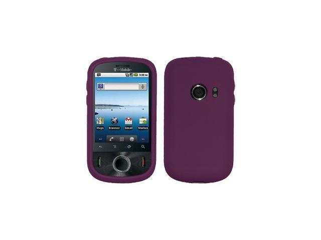 Amzer Silicone Skin Jelly Case - Purple For Huawei Comet U8150