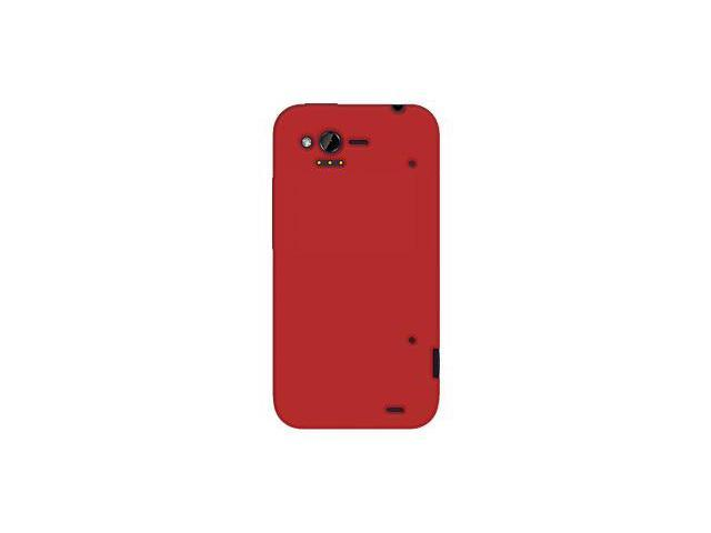 Amzer Silicone Skin Jelly Case - Red For HTC Rhyme