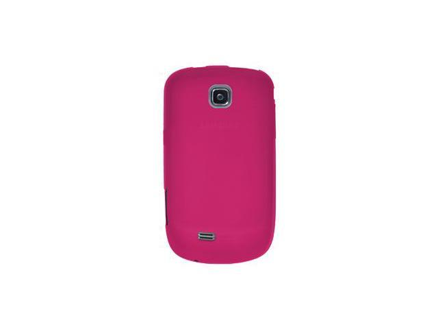 Amzer Silicone Skin Jelly Case - Hot Pink For Samsung Dart SGH-T499