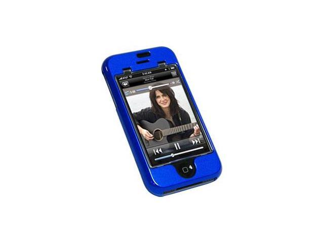 Amzer Protex Case - Blue For iPhone