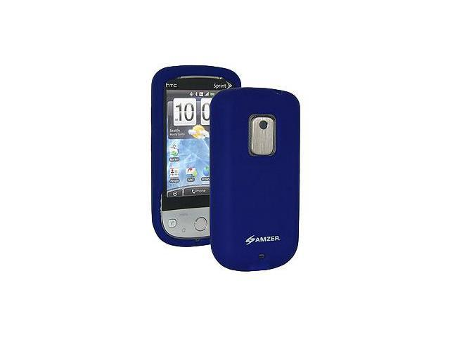 Amzer® Silicone Skin Jelly Case - Blue For Sprint HTC Hero