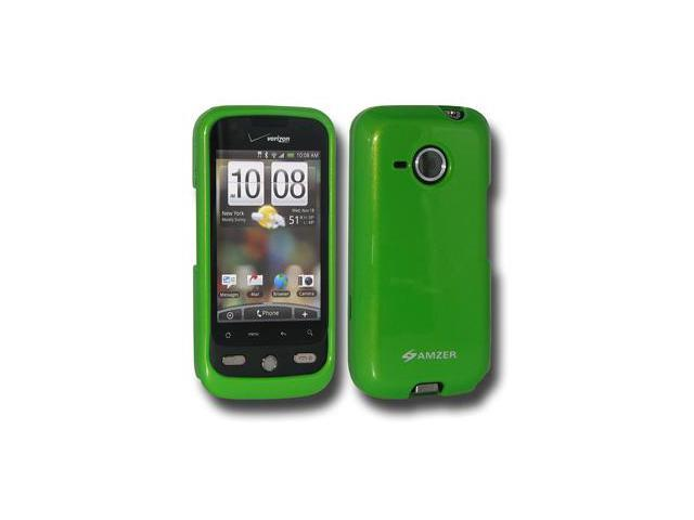 Amzer Polished Green Snap On Crystal Hard Case For HTC DROID Eris