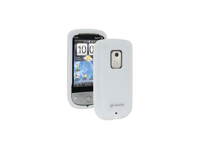 Amzer® Silicone Skin Jelly Case - Lilly White For Sprint HTC Hero