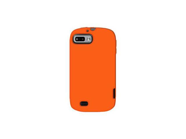 Amzer Silicone Skin Jelly Case - Orange For ZTE Fury N850