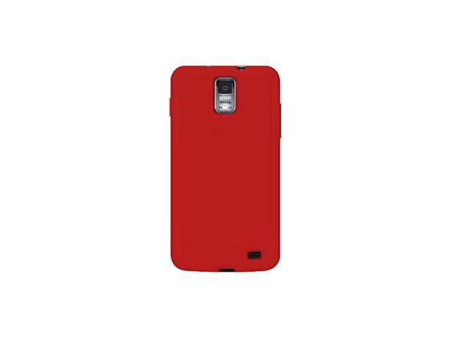 Amzer Silicone Skin Jelly Case - Red For Samsung Galaxy S II Skyrocket SGH-I727