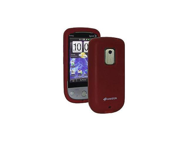 Amzer® Silicone Skin Jelly Case - Maroon Red For Sprint HTC Hero