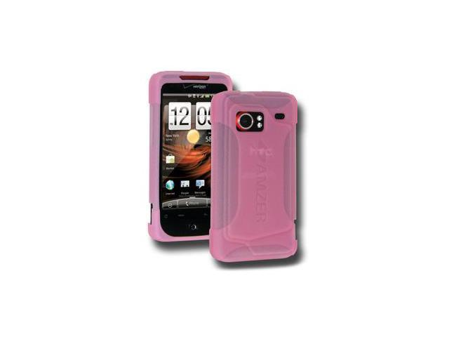 Amzer Rubberized Hot Pink Snap On Crystal Hard Case For LG Arena GT950