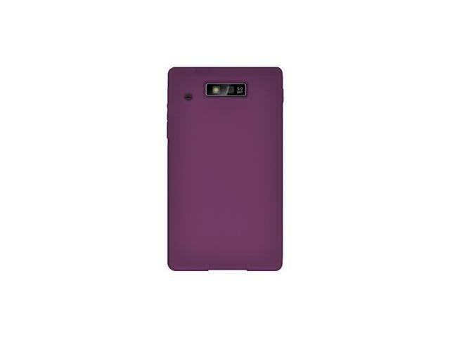 Amzer Silicone Skin Jelly Case - Purple For Motorola TRIUMPH