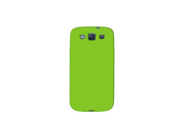 Amzer Silicone Skin Jelly Case - Green For Samsung GALAXY S III GT-I9300