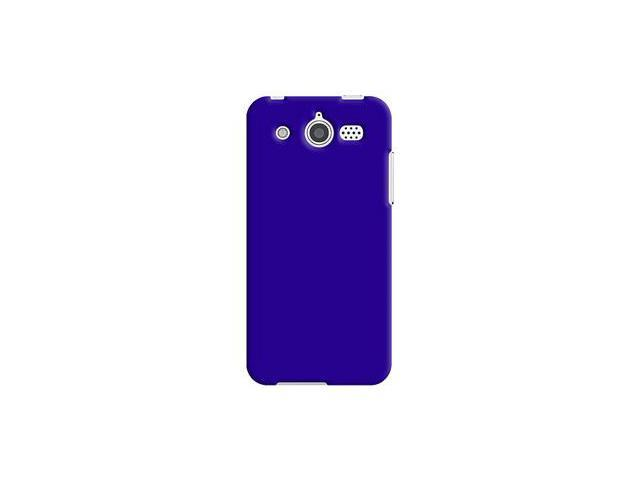 Amzer Rubberized Blue Snap On Crystal Hard Case For Huawei Mercury M886
