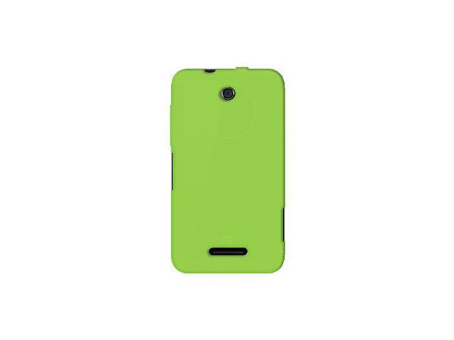 Amzer Silicone Skin Jelly Case - Green For ZTE Score X500,ZTE Score M X500M