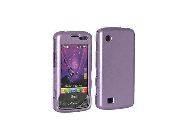 Amzer® Polished Purple Snap On Crystal Hard Case For LG Chocolate Touch VX8575
