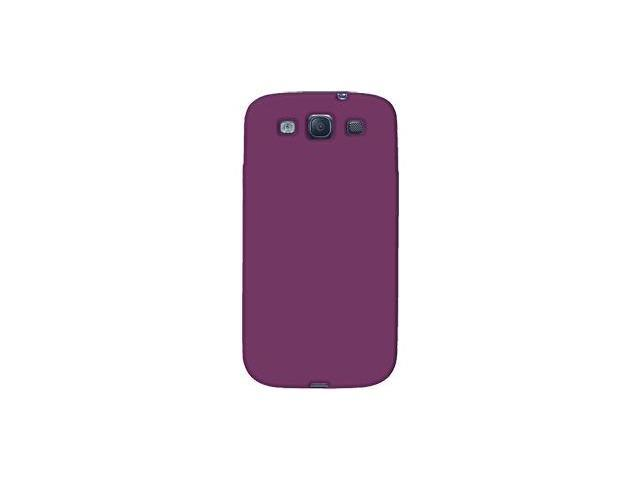 Amzer Silicone Skin Jelly Case - Purple For Samsung GALAXY S III GT-I9300
