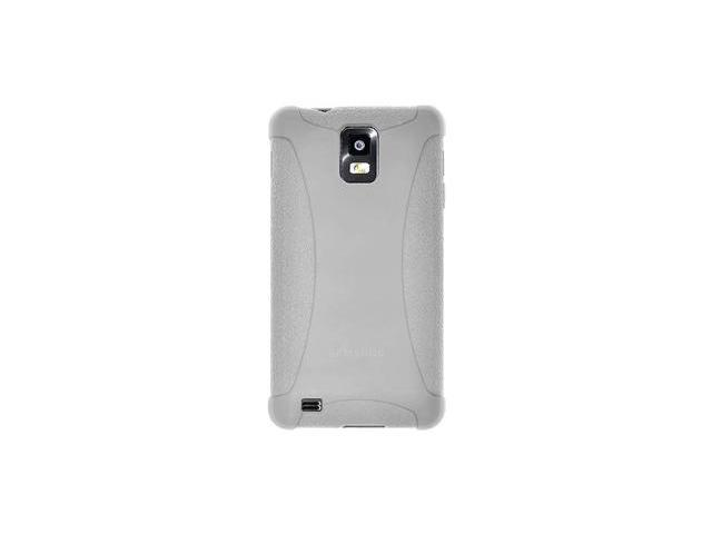 Amzer Silicone Skin Jelly Case - Transparent White For Samsung Infuse 4G I997