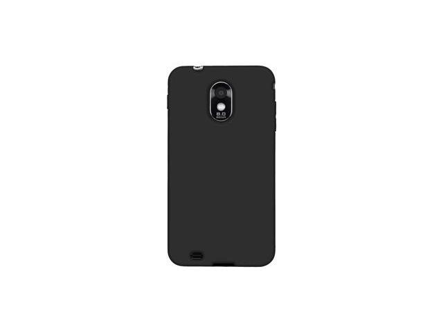 Amzer Silicone Skin Jelly Case - Black For Samsung Epic 4G Touch SPH-D710,Samsung Galaxy S II SCH-R760