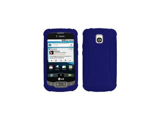 Amzer Silicone Skin Jelly Case - Blue For LG Thrive,LG Phoenix