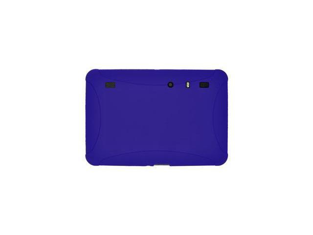 Amzer Silicone Skin Jelly Case - Blue For Motorola XOOM