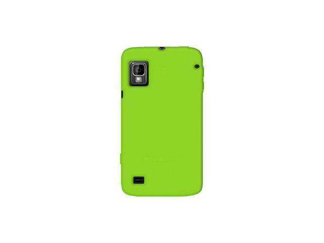 Amzer Silicone Skin Jelly Case - Green For ZTE Warp