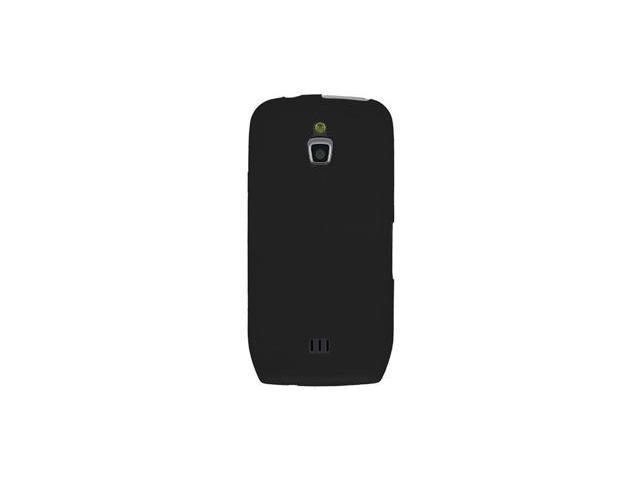 Amzer Silicone Skin Jelly Case - Black For Samsung Exhibit 4G SGH-T759
