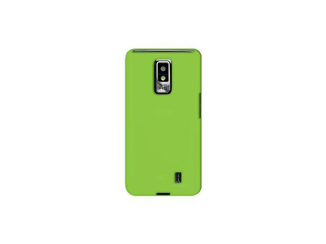 Amzer Silicone Skin Jelly Case - Green For LG Spectrum VS920