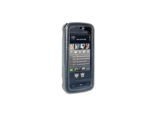 Amzer Silicone Skin Jelly Case - Black For Nextel Clutch i465