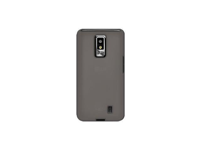 Amzer Silicone Skin Jelly Case - Grey For LG Spectrum VS920