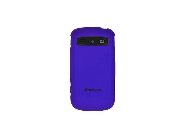 Amzer Rubberized Blue Snap On Crystal Hard Case For Samsung Admire SCH-R720,Samsung Vitality SCH-R720