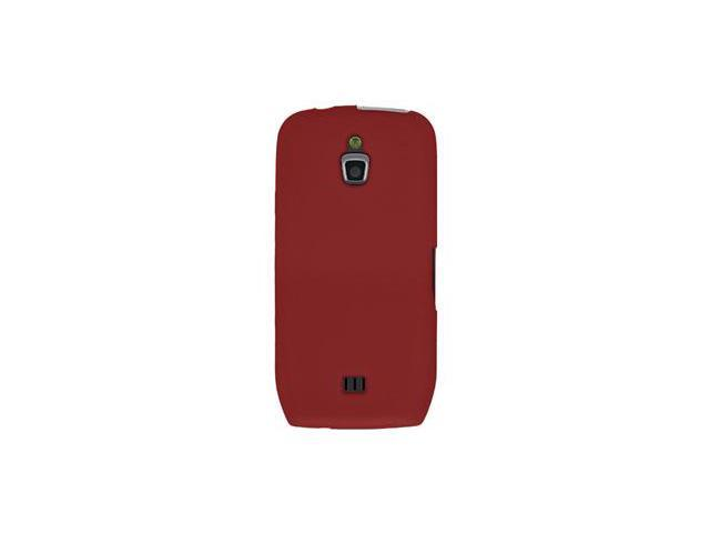 Amzer Silicone Skin Jelly Case - Maroon Red For Samsung Exhibit 4G SGH-T759