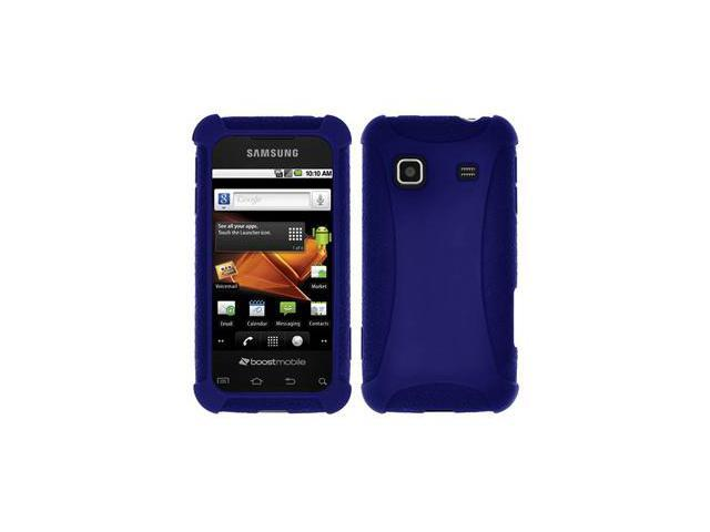 Amzer Silicone Skin Jelly Case - Blue For Samsung Galaxy Prevail