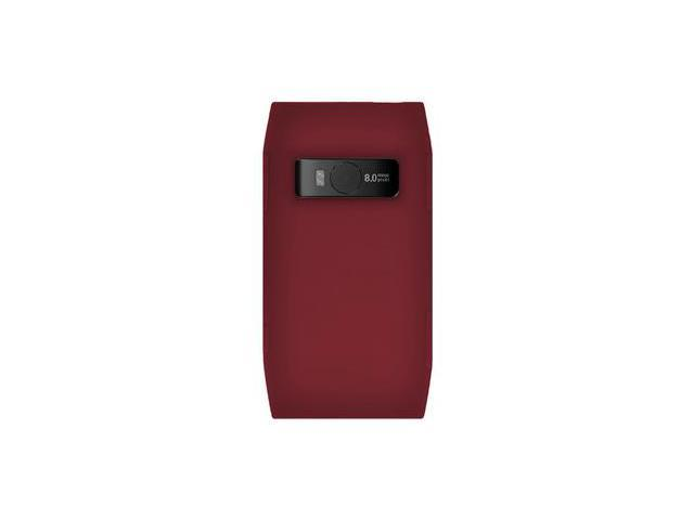 Amzer Silicone Skin Jelly Case - Maroon Red For Nokia X7-00