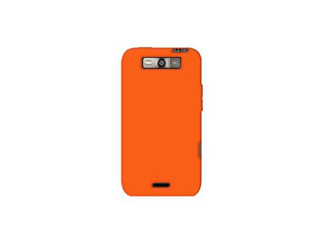 Amzer Silicone Skin Jelly Case - Orange For LG Viper LS840,LG Connect 4G MS840