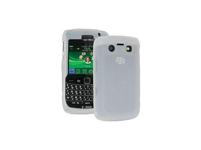 Amzer Silicone Skin Jelly Case - Lilly White For BlackBerry Bold 9700,BlackBerry Bold 9780