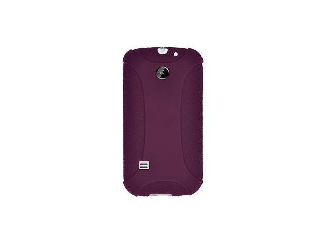 Amzer Silicone Skin Jelly Case - Purple For Huawei Ascend II M865