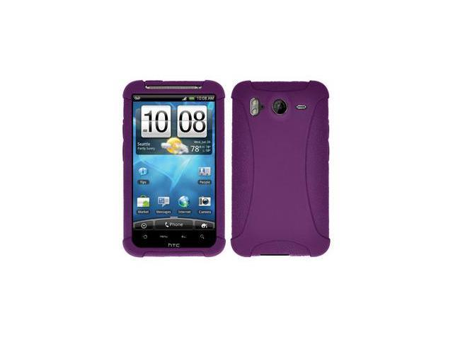 Amzer Silicone Skin Jelly Case - Purple For HTC Inspire 4G